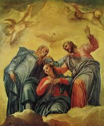 L'incoronazione della Madonna