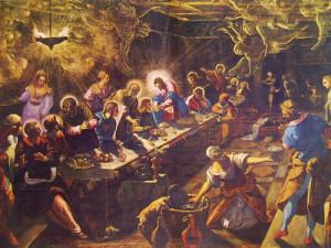ultima cena del Tintoretto